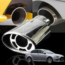 modified mitsubishi lancer ex stainless steel muffler car exhaust tail pipe for mitsubishi
