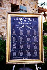 Place Seatings Printable Chalkboard Wedding Table By