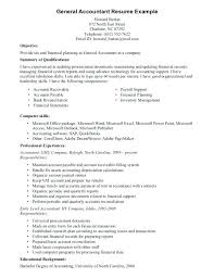 resume exles objective general purpose financial reports general resume objectives exles