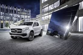 mercedes pickup leaked mercedes benz x class pickup concept motoroids