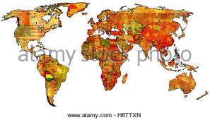 bolivia on world map bolivia political map stock photo royalty free image 72544347