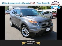 Ford Explorer 3 Rows - 2012 used ford explorer navigation 3rd row seating rearview