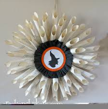 halloween book page wreath creations by kara