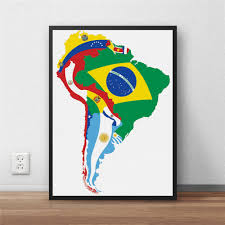 South America Country Map by Online Buy Wholesale Map South America From China Map South