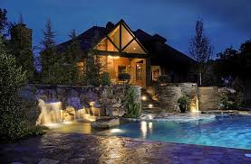 Beautiful Pool Backyards Outdoors Amazing Swimming Pool With Solid Pool Deck And Stunning