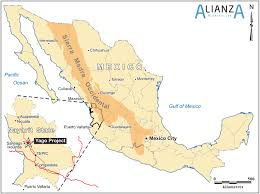 Hermosillo Mexico Map by Mexico Alianza Minerals Ltd