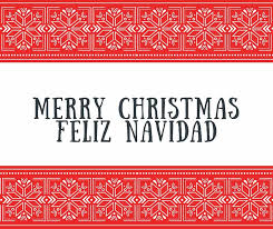 feliz navidad christmas card merry christmas feliz navidad bilingual card hispana global