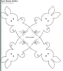 easter bunny baskets tekspotlight documents easter bunny templates for kids projects