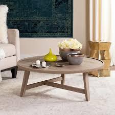 light wood end tables safavieh malone retro mid century wood light gray coffee table