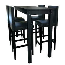 table haute pour cuisine table bar cuisine noir photos de design d intérieur et décoration