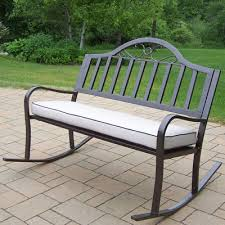 creative of rocking garden bench redwood bench rocker bench