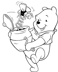winnie the pooh thanksgiving pictures coloring home
