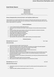 best social worker resume sample u2013 resume template for free