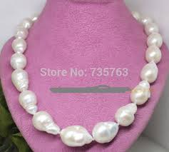 large pearl necklace images Xiuli 001395 long real natural white large baroque keshi pearl jpg