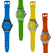 large oversized hanging wall clock wrist watch style strap quartz