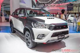 mitsubishi indonesia 2016 toyota hilux trd grand veloz at 2016 indonesia auto show giias