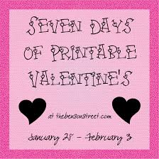 love letters valentine printable valentines day two the benson