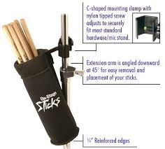 amazon com on stage da100 drum stick holder musical instruments