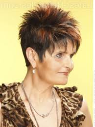 spiky short hairstyles for women over 50 brilliant short spiky womens hairstyles intended for found