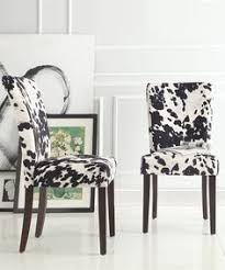 Safavieh Dining Room Chairs by Safavieh Lester Grey Zebra Dining Chairs Set Of 2 Overstock