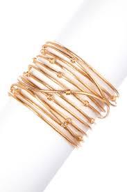 rivka friedman bracelet rivka friedman 18k gold clad bold satin mina cuff bracelet
