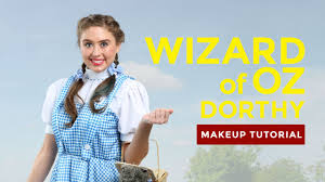 dorothy wizard of oz halloween costumes wizard of oz makeup tutorial dorothy youtube