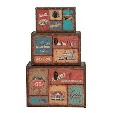 wooden trunk decorative storage boxes the range