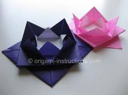 Lotus Blossom Origami - origami lotus blossom folding how to fold an