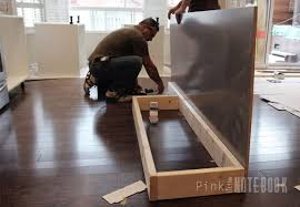 installing a kitchen island creating an ikea kitchen island pink notebookpink