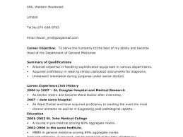 Resume With Picture Sample by Sample Resume For Freshers Doctors Templates