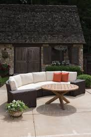 Curved Sofa Sectional Item Lloyd Flanders Premium Outdoor Furniture In All Weather