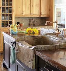 Concrete Kitchen Sink by Best 25 Stone Sink Ideas On Pinterest Bathroom Sink Bowls