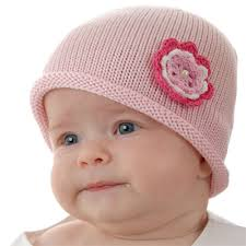 baby beanie hat 0 6m soft luxurious cotton knit