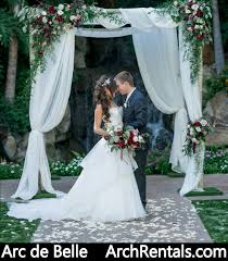 wedding canopy rental arc de wedding arch and canopy rental