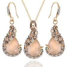 rose gold necklace fashion images Buy pink jewellery set and get free shipping on jpg