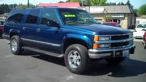 chevy suburban blue 1997 chevy suburban sold youtube