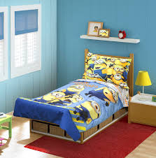 Twin Bed Sets For Boy by Amazon Com Minions Mishap 4 Pc Toddler Bedding Set Baby