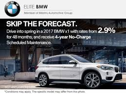 bmw no charge maintenance skip the forecast mierins automotive promotion in ontario