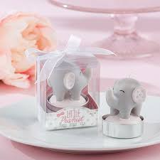 elephant favors elephant candle birthday party favors