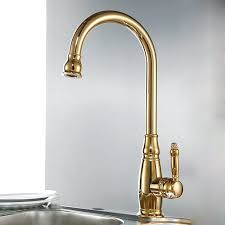 Faucets For Kitchen Sinks by Deck Mounted Kitchen Sink Faucet With Pull Down Sprayer