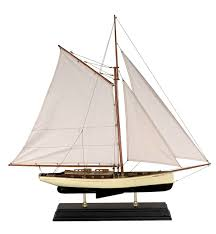 sailboat home decor 1930 u0027s classic yacht model ship 2 sizes available classic