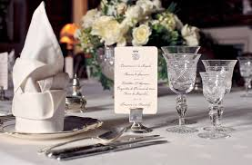 Setting Formal Dinner Table How To Set A Formal Dinner Table In The Downton Abbey Style The