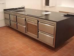 meuble cuisine inox mobilier plan de travail inox sur mesure gw inox à meuble cuisine
