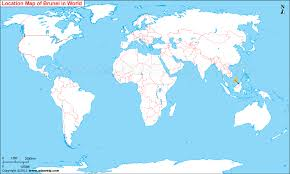 brunei map in world where is brunei located brunei location in world map