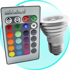 remote controlled color changing lightbulb craziest gadgets