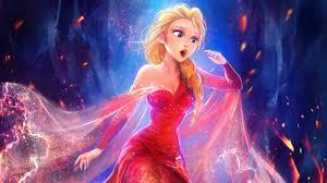 wallpaper queen elsa beautiful frozen hd fantasy 3194
