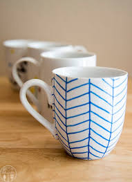 decorate your own tea cup diy personalized mugs like like