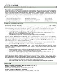 sample financial advisor resume sle financial advisor resume by
