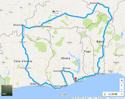 Benin Africa Map by Cycling West Africa Ghana To Ghana Album On Imgur