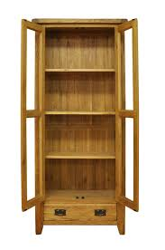 Corner Display Cabinet With Storage Oak Display Cabinets With Glass Doors Roselawnlutheran